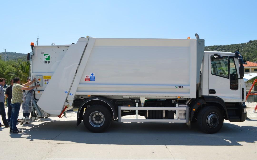 Obavijest o odvozu miješanog komunalnog otpada za mještane Sevida i Sevida na Moru